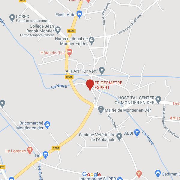 Carte La-Porte-du-Der